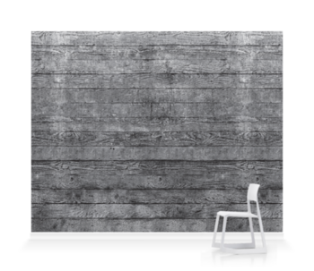'Concrete Wood Slate' Wallpaper murals