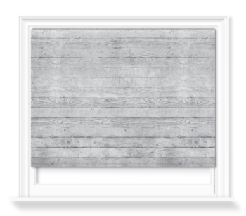'Concrete Wood Dove Grey' Roller blinds