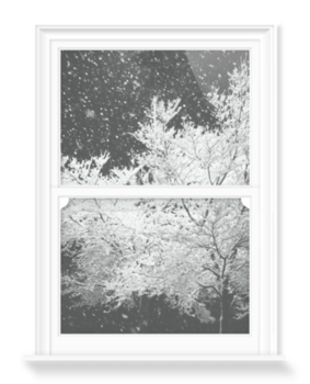'Winter Waiting' Decorative Window Film