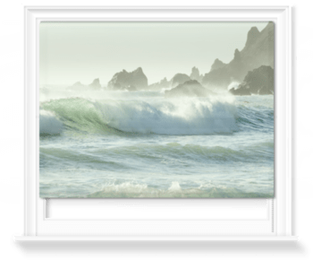 'Coastal Rush' Roller Blind