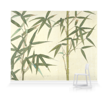 'Drawing of Bamboo' Wallpaper Mural