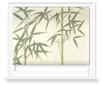'Drawing of Bamboo' Roller Blind