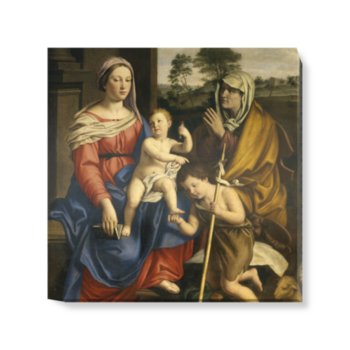 'The Holy Family' Canvas Wall Art