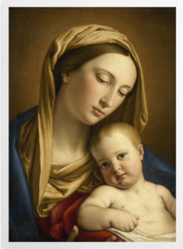 'Virgin and Child' Art Prints
