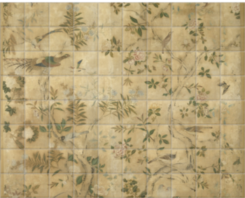 'Wallpaper panel' Ceramic Tile Mural