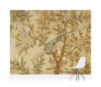'Wotton-Under-Edge Chinoiserie Panel Wallpaper Mural