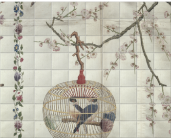 'Hanging II' Ceramic tile murals