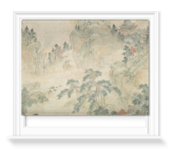 'Ming Mountain Scroll' Roller Blind