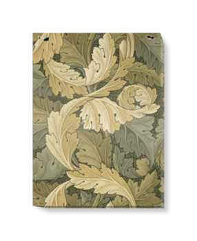 'Acanthus Wallpaper' Canvas Wall Art