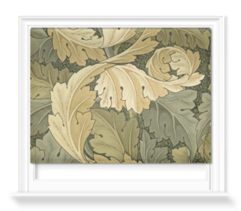 'Acanthus Wallpaper' Roller Blind