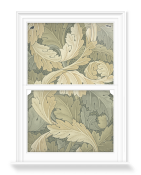 'Acanthus Wallpaper' Decorative Window Film