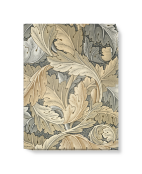 'Acanthus (gold)' Canvas Wall Art