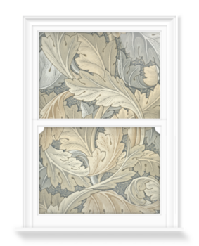 'Acanthus (gold)' Decorative Window Film