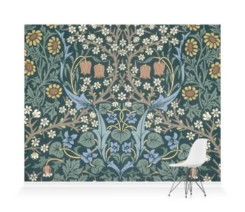 'Blackthorn' Wallpaper Mural