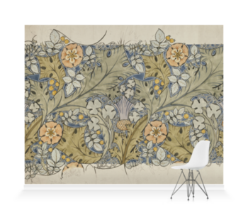 'Design for a textile' Wallpaper Mural