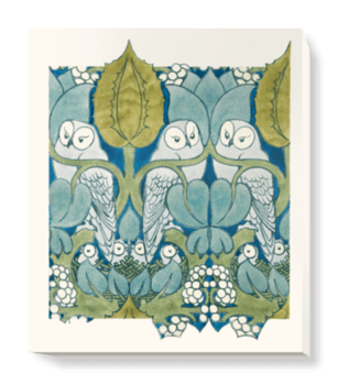 'The Owls' Canvas Wall Art