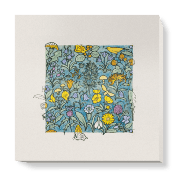 'Design Depicting a Forest' Canvas Wall Art