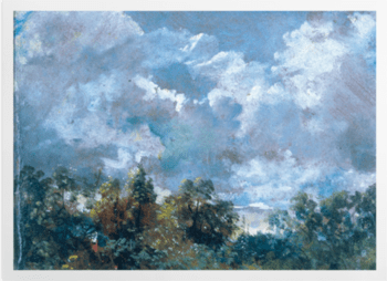 'Study of Sky and Trees' Art Prints