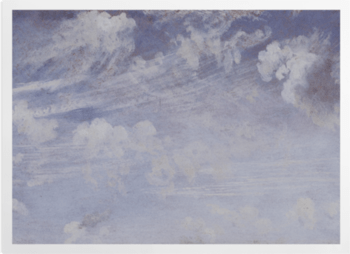 'Study of Cirrus Clouds' Art Prints