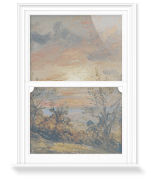 'Sketch at Hampstead: Evening' Decorative Window Film