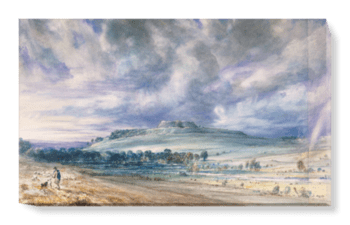 'Old Sarum' Canvas Wall Art