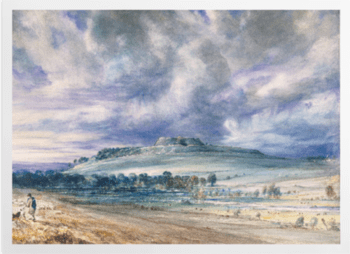 'Old Sarum' Art Prints
