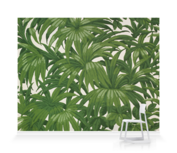 'Portion of wallpaper' Wallpaper Mural