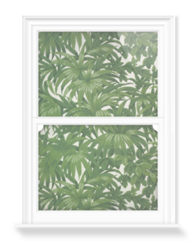'Portion of wallpaper' Decorative Window Film