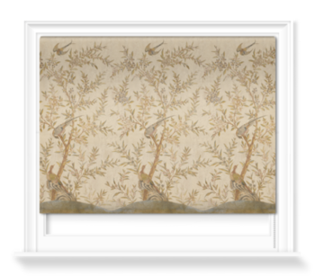 'Wotton-Under-Edge Chinoiserie Parchment' Roller blinds