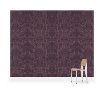 'Lydiard Damask Mulberry' Wallpaper murals