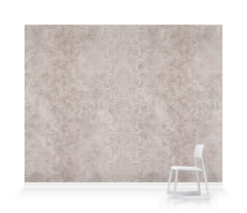 'Lydiard Damask Smoke Grey' Wallpaper murals