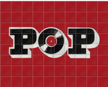 'Pop' Ceramic Tile Mural