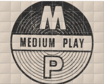 'Medium Play' Ceramic Tile Mural