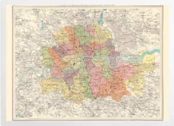 'County of London' Art Prints