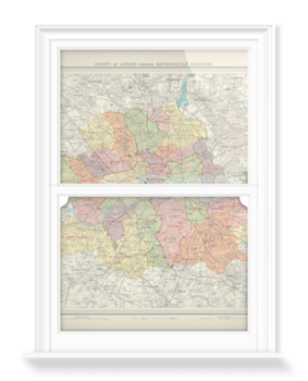 'County of London' Decorative Window Film