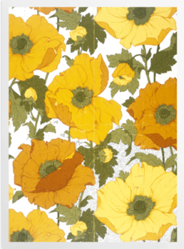 'Summer Poppies' Art Prints