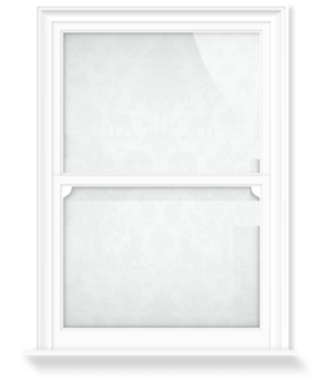 'Garden of Eden I - White' Decorative Window Film