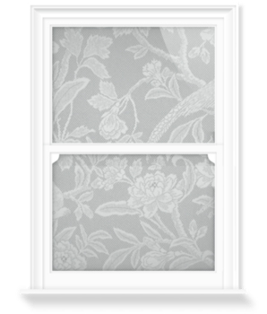 'Aviary Graden - Grey' Decorative Window Film