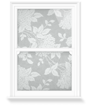 'Hydrangea - Grey' Decorative Window Film