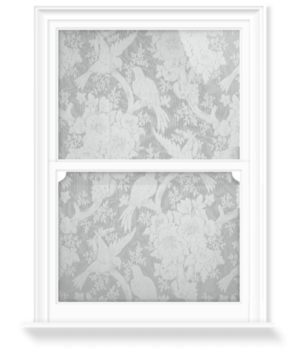 'Antoinette - Grey' Decorative Window Film