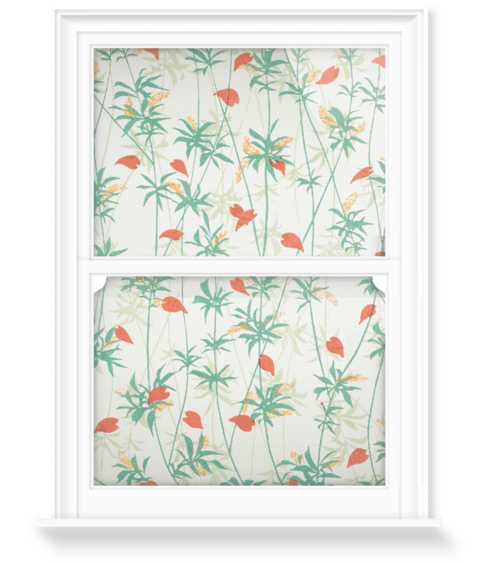 'Floral design III' Decorative Window Film