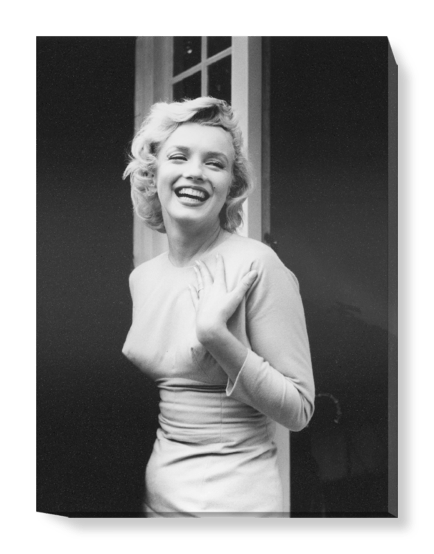'Happy Marilyn' Canvas Wall Art
