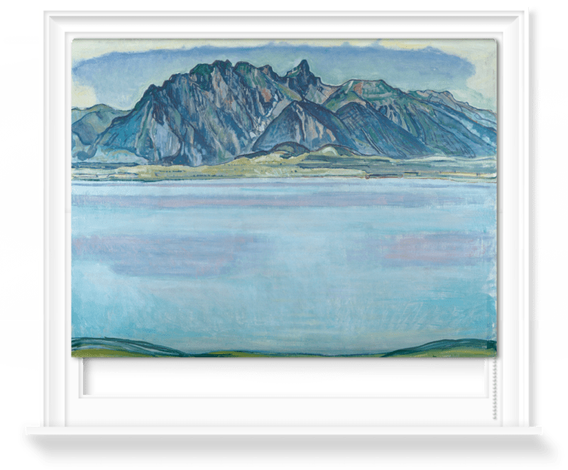 'Lake Thun and the Stockhorn Mountains' Roller Blind