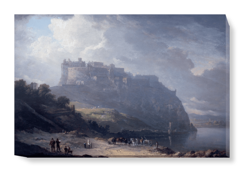 'Edinburgh Castle and the Nor' Loch' Canvas Wall Art
