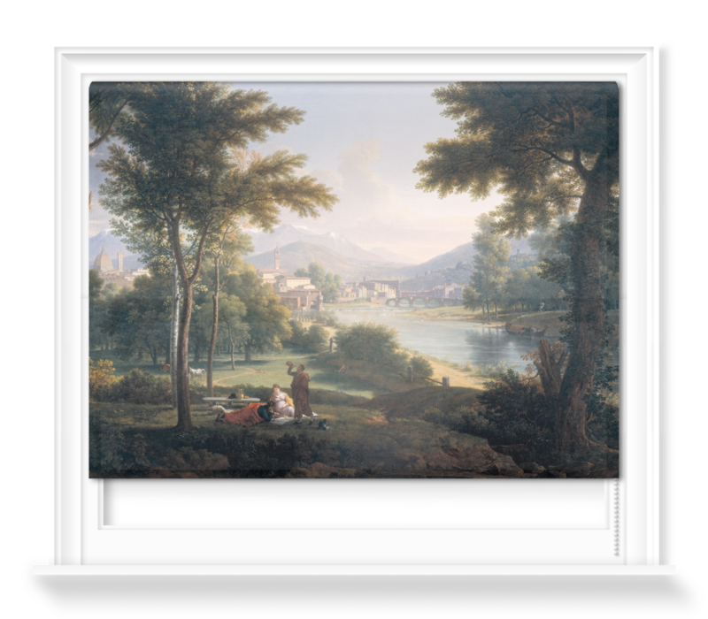 'A View of Florence from the North Bank of the Arno' Roller Blind
