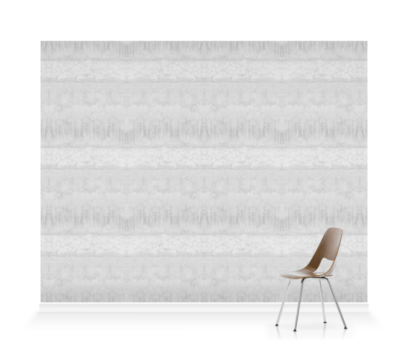 'Servants Quarters Stripe Dove Grey' Wallpaper murals