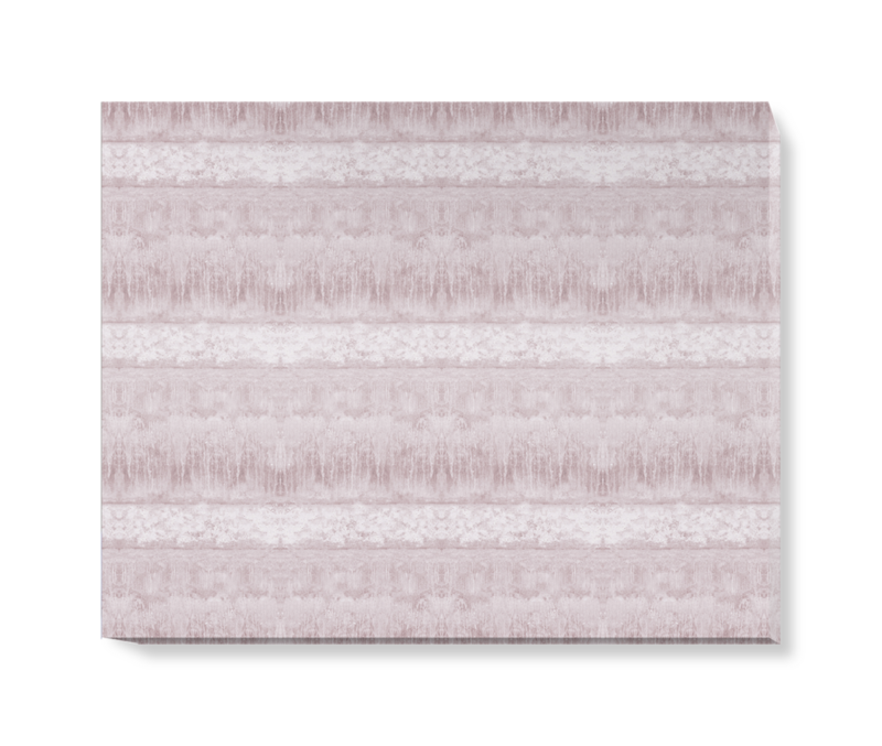 'Servants Quarters Stripe Amethyst' Canvas wall art