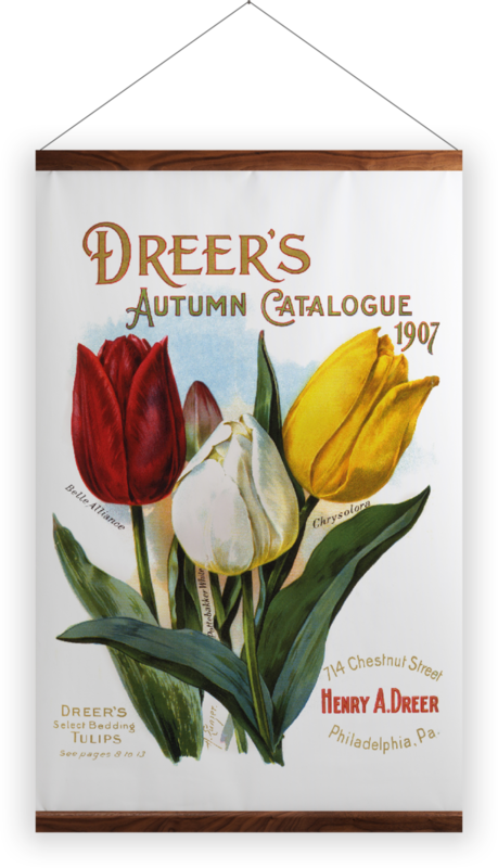 'Dreer's Autumn Catalogue' Wall Hanging
