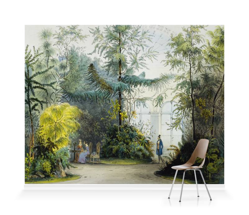 'Winter Garden Vienna' Wallpaper Mural