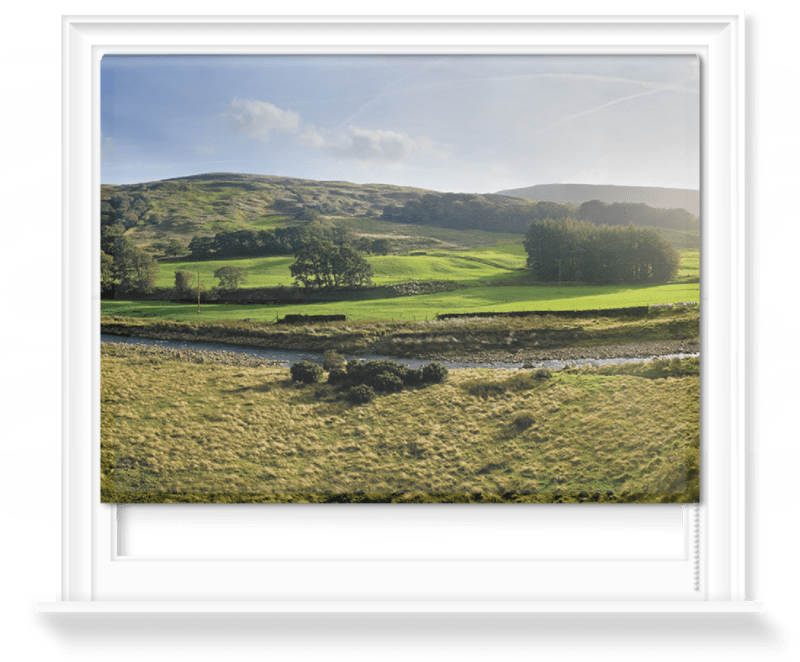 'Mellor Knoll and Totridge Fell' Roller Blind